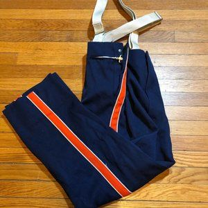 DeMoulin Marching Band Mens Pants 40x28 Navy VTG